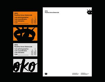 OKO. Visual identity & web design