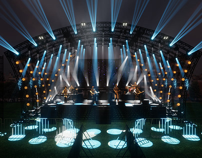 LIVE Concert Stage Lighting Design