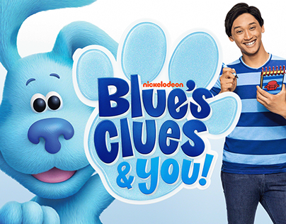 Nickelodeon's New Show Blues Clues & You!'s Logo
