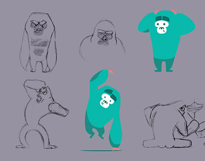 Visual identity for Gorilo.pl