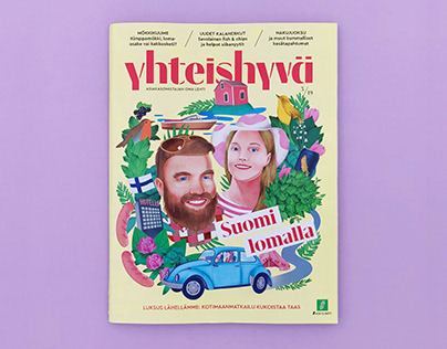 Illustration for Yhteishyvä Magazine