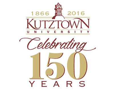 Kutztown University - 150 Sesquicentennial Logo