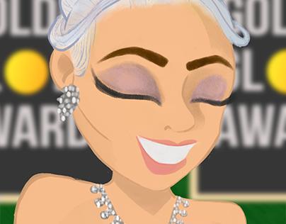 Lady Gaga - Golden Globes 2019