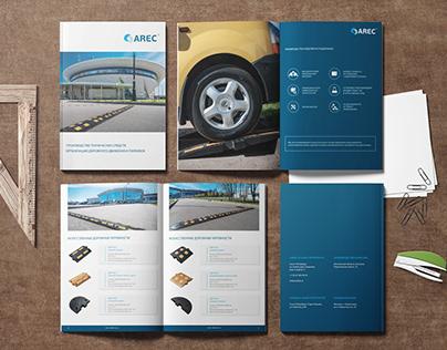 Дизайн и верстка каталога дорожной продукции