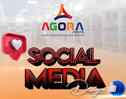 AGORA Informatique - Social Media Design