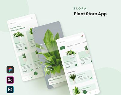 Flora - Plant Store App