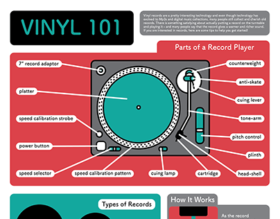 Vinyl Record Infographic