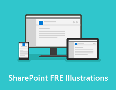 SharePoint New Feature FRE Illustrations
