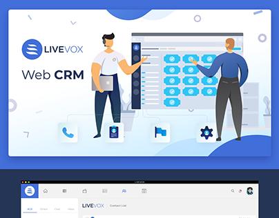Livevox - Web CRM