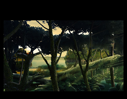 CHALLENGE OF MATTE PAINTING