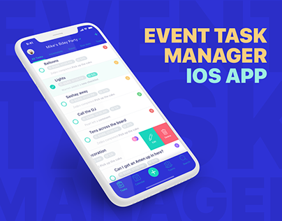 Event Task Manager - iOS App