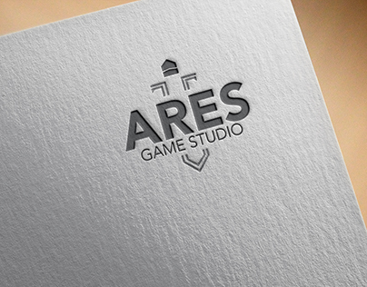 Ares Game Studio Logo & Infographic