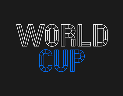 World Cup Typeface for ESPN