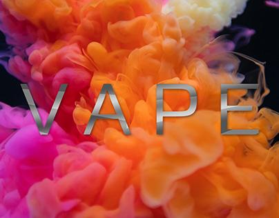 VapeShop web concept