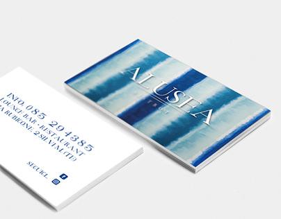 Logo and Visual Design Alusea Bistrot