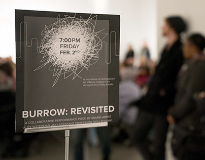 Burrow: Revisited Event Poster