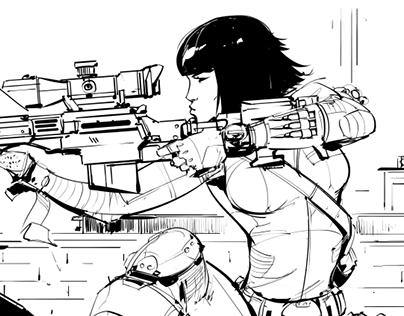 Sketches B&W