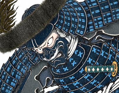YOSHISHIGE SATAKE JAPANESE SAMURAI