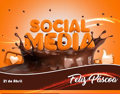 Social Media- Páscoa
