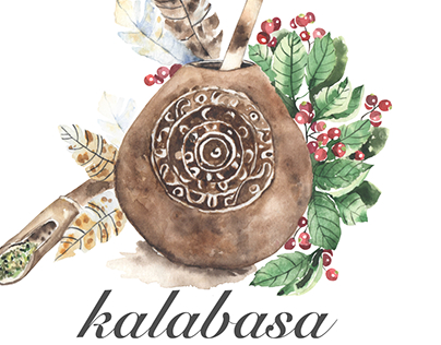 Watercolor logo |forKALABASA