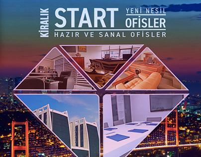 开始办公室出租,准备和虚拟办公室,土耳其伊斯坦布尔