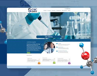 CSC Kimya Website Design