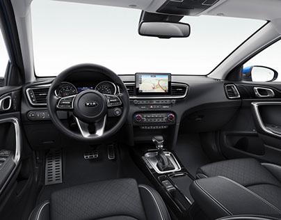 KIA Cee'd interior 2018 (interior design)