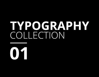 Typography Collection 01