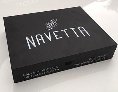 Fratello Navetta Package Design for Fratello Cigars