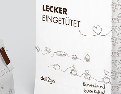 deli2go   Illustration   Typografie