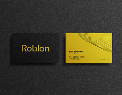 Visual identity - Roblon