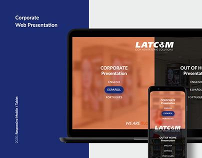 Corporate Web Presentation - Latcom
