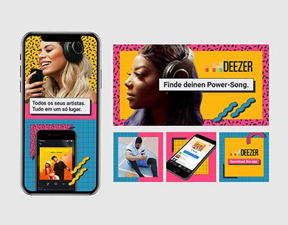 Deezer, global acquisition campaign