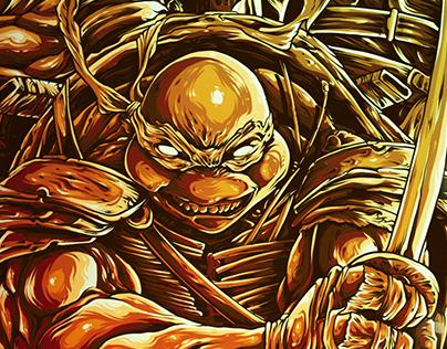 NINJA TURTLES - teenage mutant