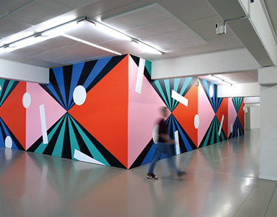 University Hasselt interior painting