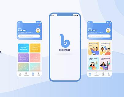 Bright - Interactive English App