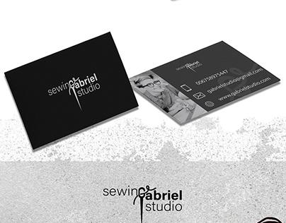 website sewing studio logo design