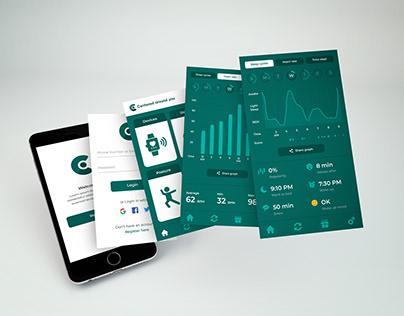 Centered Around You App Design