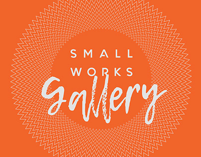 Small Works Gallery Branding