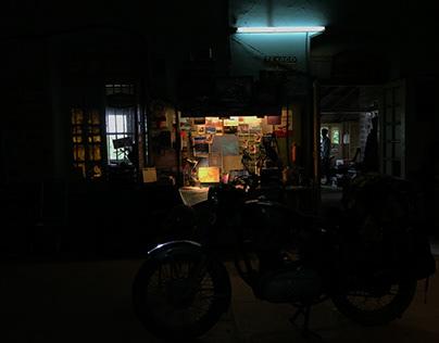 SBI Cancer Suraksha - Garage Film (Set Decor)