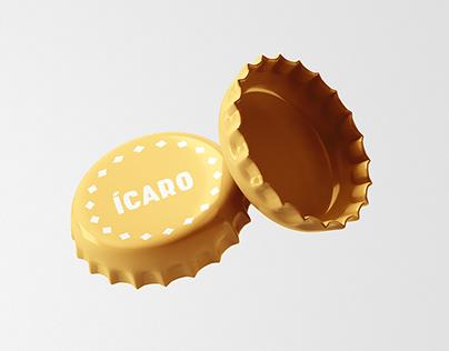 Branding para Cervecería Ícaro
