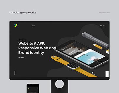 Y Studio Digital Agency Responsive Website