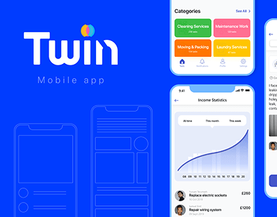 Twin | Mobile app to search for a new job