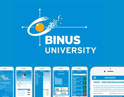 BinusMaya 5 Mobile App Redesign