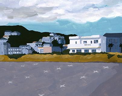 海辺の風景 Seaside Landscape