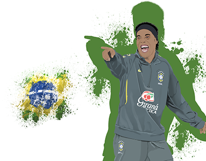 Ronaldinho Gaucho vector - The Smile Man