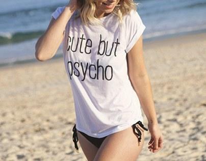 Kiểu áo thun đồng phục bikini cho bạn sự thoải mái