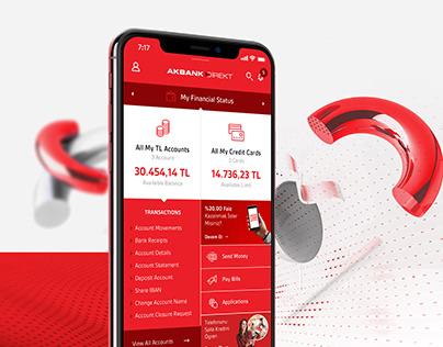 Akbank UI/UX Case Study