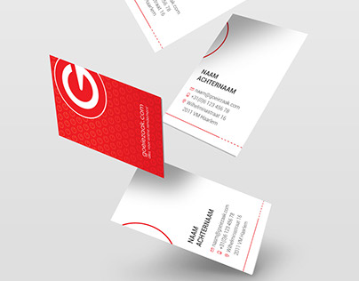 Business cards design for Goeiezaak as Visual Designer