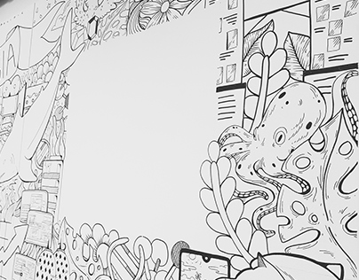 Southeast Asia Doodle